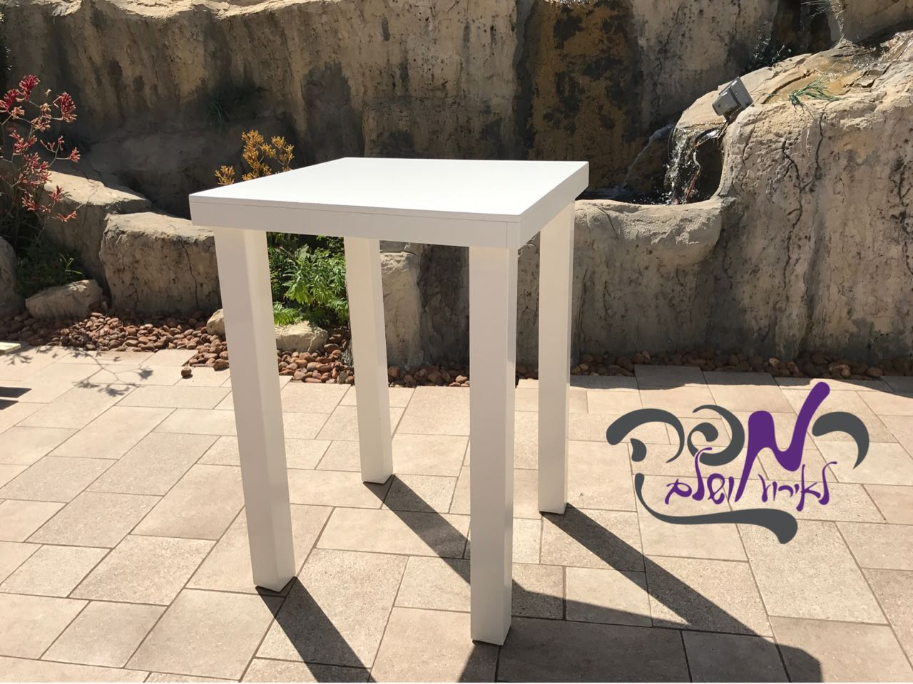 השכרת שולחן בר 4 רגליים