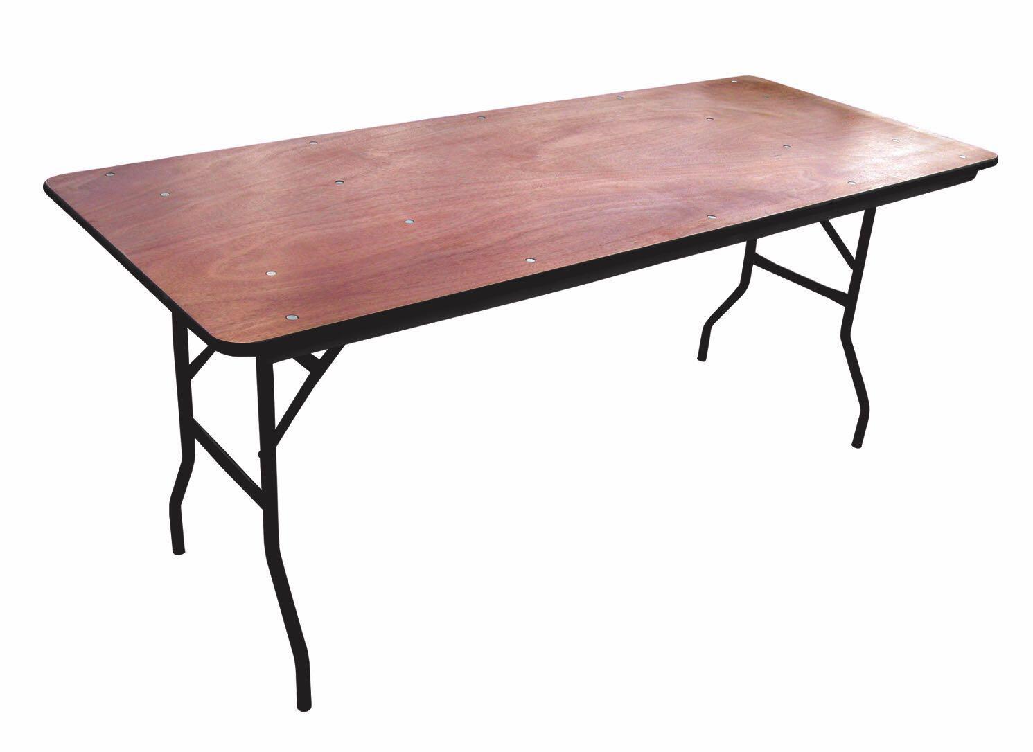 שולחן מלבן לאירועים